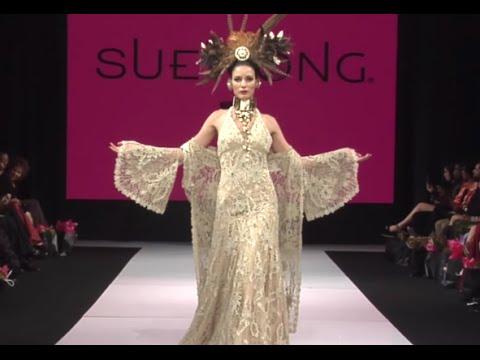 Sue wong fashion show 82