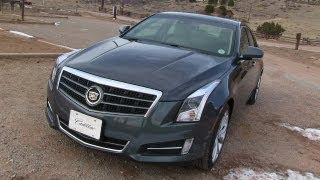 2013 Cadillac ATS 0-60 MPH Mile High Drive & Review