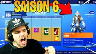 SAISON 6: LE NOUVEAU SKIN ULTIME PALIER 100 !! Fortnite: Battle Royale