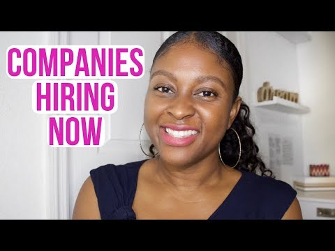 5 Companies Hiring NOW Work From Home (September 2018)