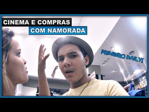PRIMEIRO DAILY! CINEMA E COMPRAS COM NAMORADA - DAILY VLOG #01