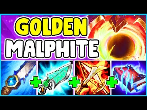 *NEW SKIN* PRESTIGE DARK STAR MALPHITE SPOTLIGHT FULL AP ONESHOT BUILD JUNGLE League Of Legends S10