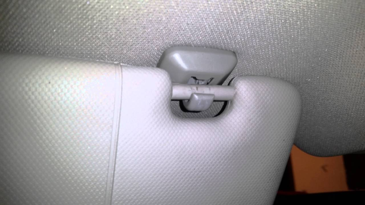 Problem With Sun Visor Clip