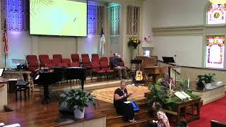 September 5, 2021 Service [Trimmed] at First Baptist Thomson, Streaming License 201531172