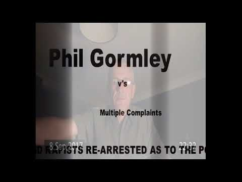 Phil Gormley Stands Down