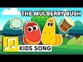 Download MULBERRY BUSH | NURSERY RHYME | BEST KIDS SONG | LARVA KIDS | FULL SONG | FAMILY SONG MP3 song and Music Video