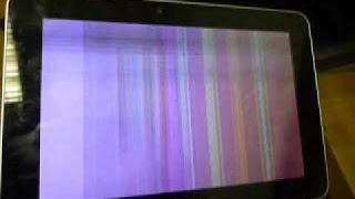 Проблемы с дисплеем планшета