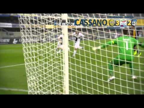 Antonio Cassano compilation: The Best of Parma 2013-14