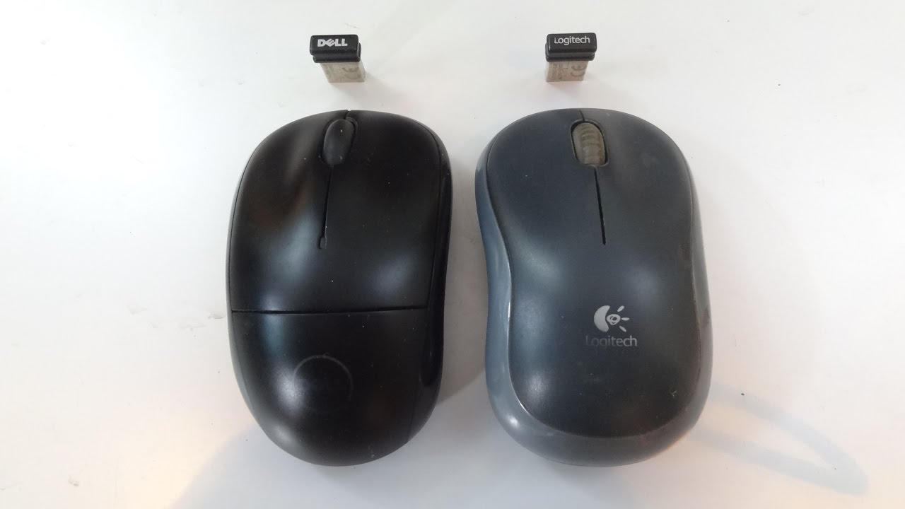 Dell Wm123 Vs Logitech M185 Wireless Mice Comparison Youtube Mouse Wirelesss M 185