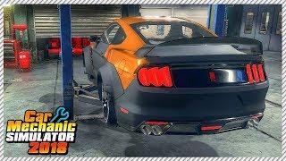 Car Mechanic Simulator 2018 - Junkyard Rescue Mustang Shelby GT350R | Ep. 21