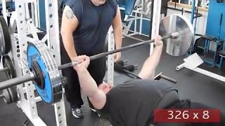 Drive For 500 Lbs Raw Bench - Part 3 - Stg Strength And Power