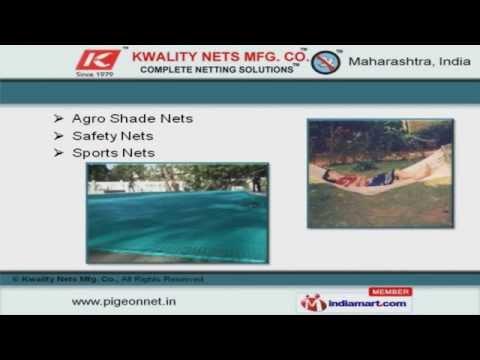 Protection Nets & Screens by Kwality Nets Mfg. Co., Mumbai
