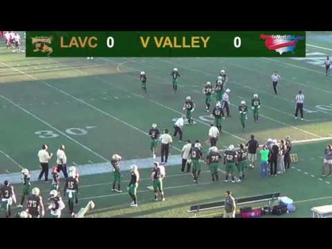 LAVC Football - LA Valley vs Victor Valley