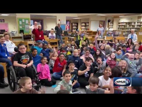 School visit: Amherst Street School in Nashua