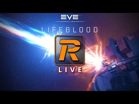 EVE Online Lifeblood Moon Mining Preview | LIVE