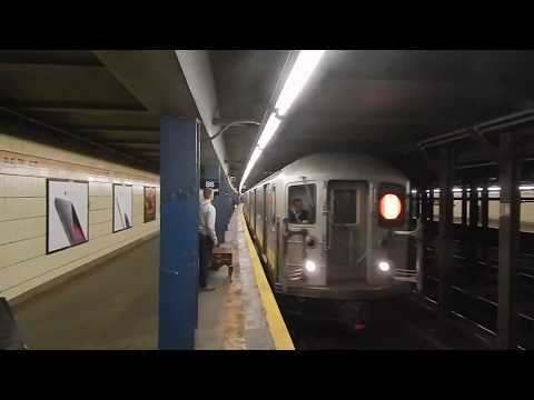 Nostalgia! 86th Street (IRT Broadway-7th Avenue Line) Action!