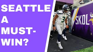 Vikings vs. Seahawks preview - Is this a must-win game for the Vikings? [Vikings Ventline]