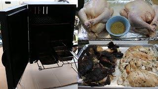 Smoke Roasted Chicken ~ Ft. Masterbuilt Portable Electric Smoker ~ Noreen's Kitchen