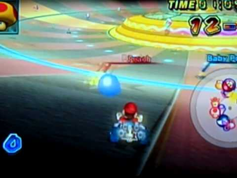 Mario Kart Wii Balloon Battle Chain Chomp Roulette Youtube