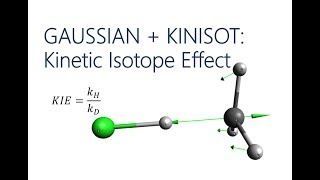 Gaussian and Kinisot: Kinetic Isotope Effect