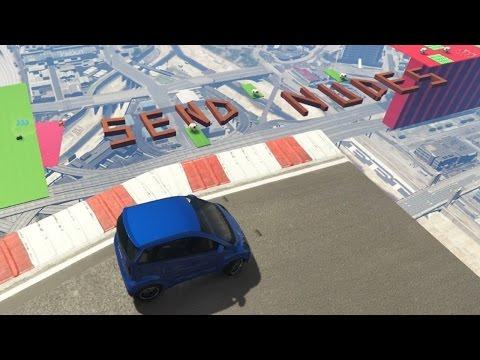 OVER TEKST RIJDEN & ELKAAR ERAF BEUKEN! (GTA V Online Funny Races)