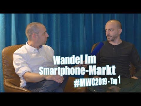 Faltbare Smartphones und 5G   c't uplink spezial vom MWC 2019, Tag 1