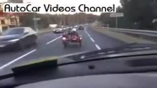 22  Авто Видео Приколы  Виртуозный Мотоциклист