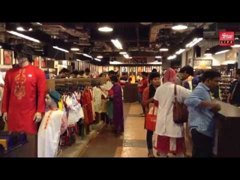 Shopping spree ahead of Bangla New Year 1422
