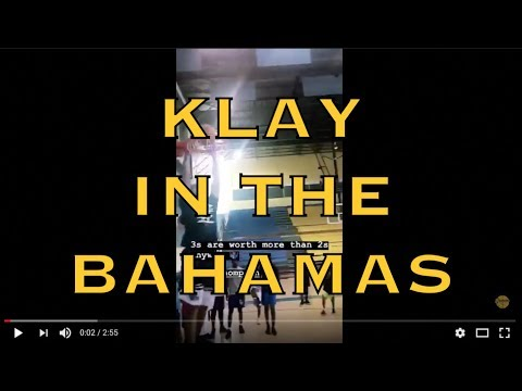 IG mix: ChinaKlay (Klay Thompson) back in the Bahamas, misses another dunk + MORE VIEWS