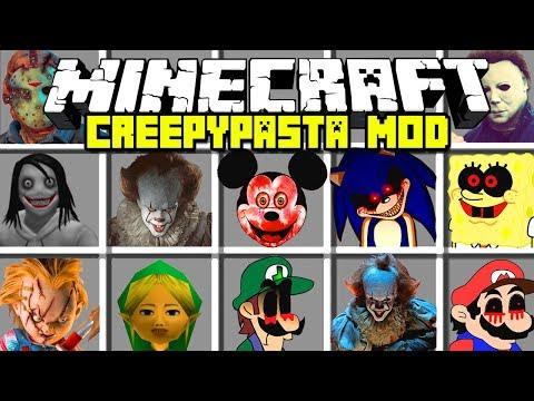 Jeff The Killerexe Roblox - Minecraft Creepypasta Mod Jeff The Killer Sonicexe
