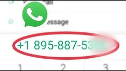 How To Adding international contacts phone numbers In WhatsApp