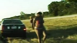 Texas troopers perform roadside cavity search on brandy hamilton & alexandria randle