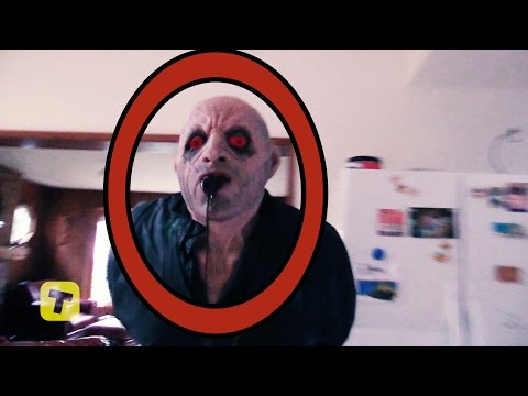 Terrifying Demon Attacks teen Girl in Supernatural horror Sunshine and the haunted sea cabin video 2