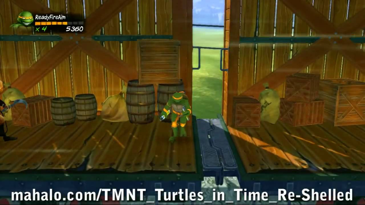 TMNT: Turtles In Time Re-Shelled Walkthrough