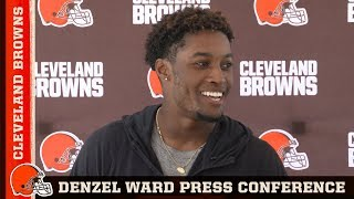 Denzel Ward on Fulfilling His Childhood Dream & His Competitive Nature | Cleveland Browns