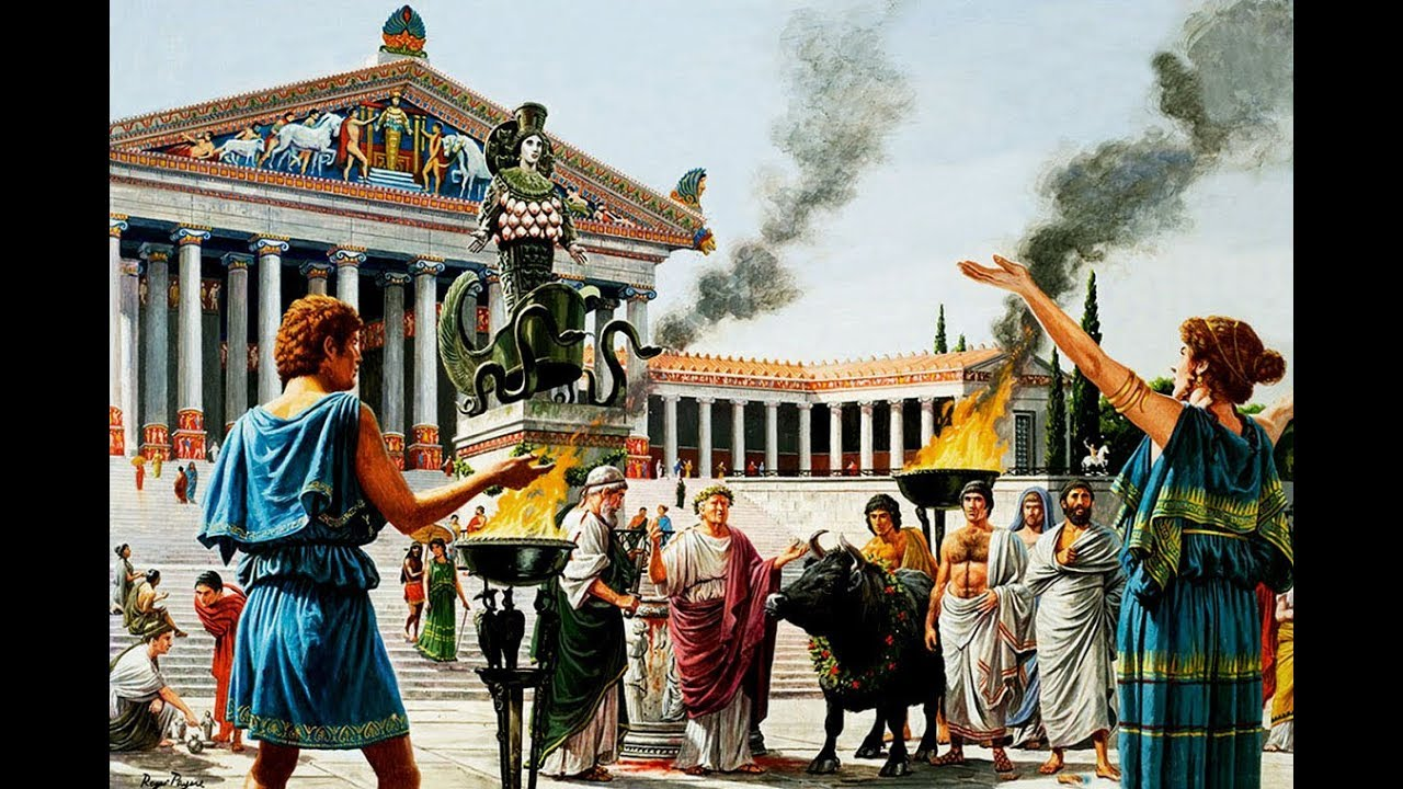 holy ancient greek civilization - 1140×760
