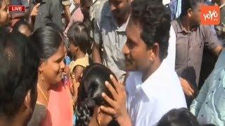 YS Jagan Praja Sankalpa Yatra Kakinada Live   Jagan Craze in Kakina...