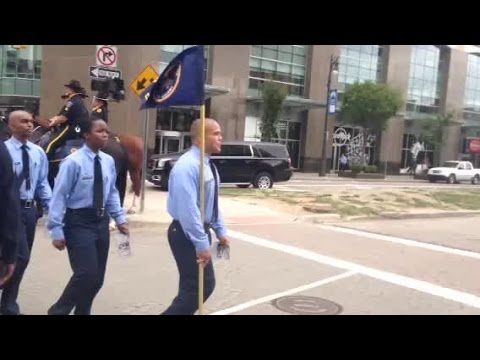 9-11 Detroit Police Academy Recruits