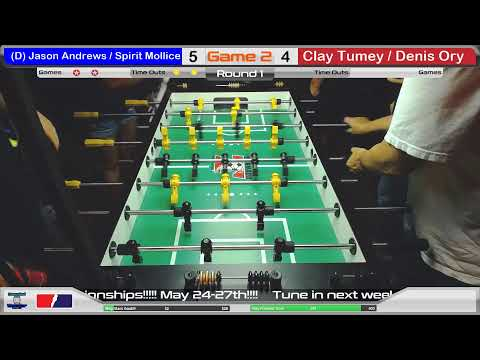 DFW Foosball's Texas State Championship Warm up Bring Draw Tournament