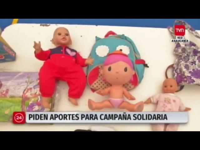 Campaña solidaria de Pumahue Temuco en TVN