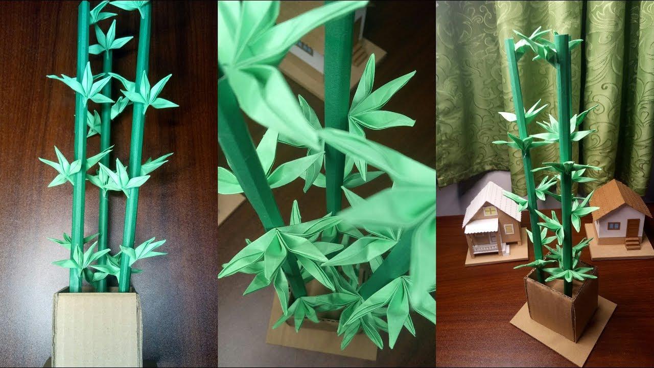 Diy Bamboo Plant Decoration