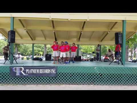 U.P.H.Y. Step Team performing at Forsythe Park in Monroe, Louisiana