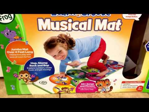 Leapfrog learn & groove musical mat review