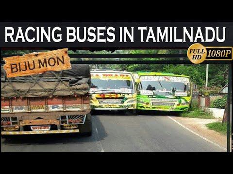 Racing buses in
