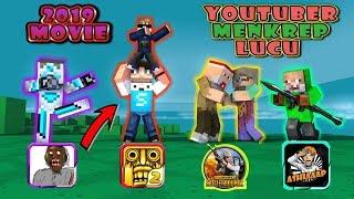 Video Youtuber Minecraft Movie 2019 KOCAK BANGET - Minecraft Animation download MP3, 3GP, MP4, WEBM, AVI, FLV Oktober 2019