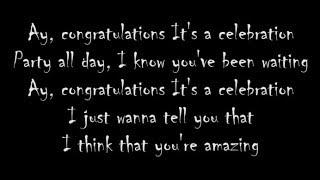 PewDiePie - Congratulations (Lyrics)