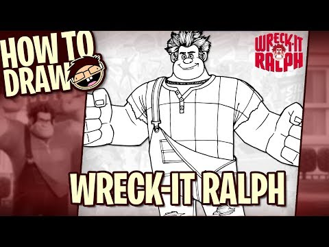 How to Draw WRECK-IT RALPH (Wreck-It Ralph) | Narrated Easy Step-by-Step Tutorial