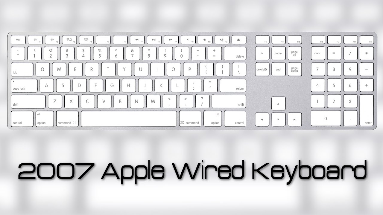 Awesome Apple Wired Keyboard Cover Sketch - Wiring Schematics and ...