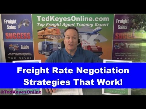 [TKO] ♦ Freight Rate Negotiations That Work! ♦ TedKeyesOnline.com