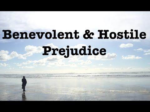 PREJUDICE REEL 1: Benevolent and Hostile Prejudice, Origins, and Application in a People's Movement